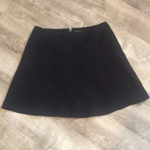 Vince Camuto knee length, a-line navy skirt.